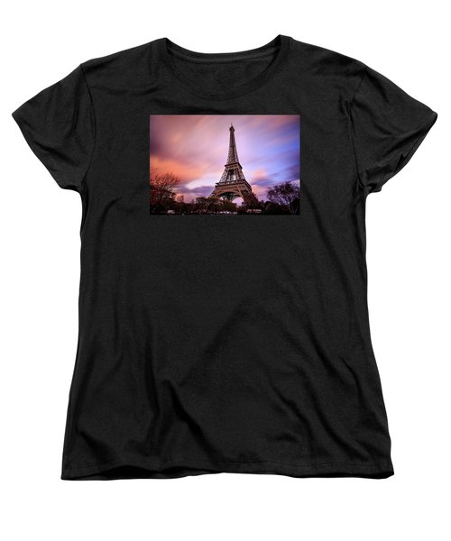 Women's T-Shirt (Standard Cut) featuring the photograph Paris Pastels by Jennifer Casey