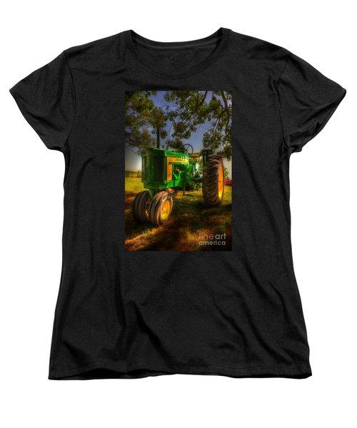 Parked John Deere Women's T-Shirt (Standard Cut) by Michael Eingle