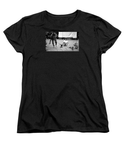 Party Crasher Women's T-Shirt (Standard Cut) by David Gilbert