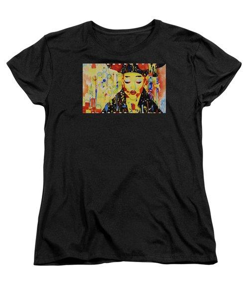 Party Girl Women's T-Shirt (Standard Cut) by Cynthia Powell
