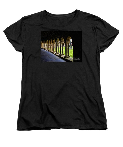 Women's T-Shirt (Standard Cut) featuring the photograph Passage To The Ancient by Roberta Byram
