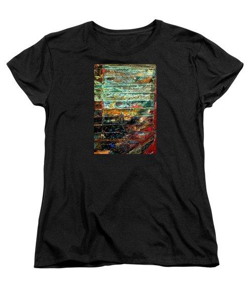 Patchworks 1 Women's T-Shirt (Standard Cut) by Newel Hunter