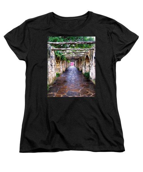 Path To The Alamo Women's T-Shirt (Standard Cut)