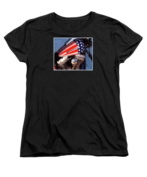 Live To Ride Women's T-Shirt (Standard Cut) by Colleen Taylor