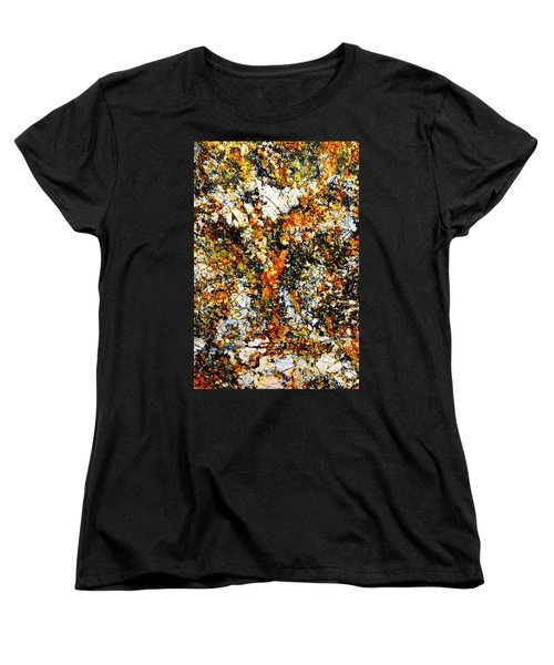 Women's T-Shirt (Standard Cut) featuring the photograph Patterns In Stone - 207 by Paul W Faust - Impressions of Light