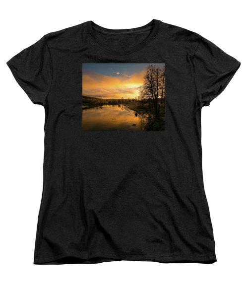 Peaceful Thoughts Women's T-Shirt (Standard Cut) by Rose-Marie Karlsen