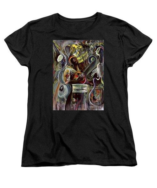 Pearl Jam Women's T-Shirt (Standard Cut) by Ikahl Beckford