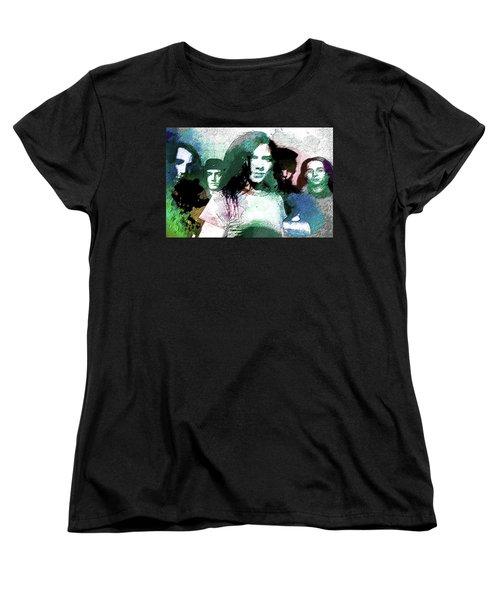 Pearl Jam Portrait  Women's T-Shirt (Standard Cut) by Enki Art