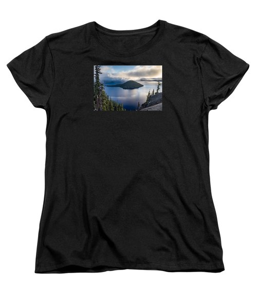 Peering At The Wizard Women's T-Shirt (Standard Cut) by Greg Nyquist