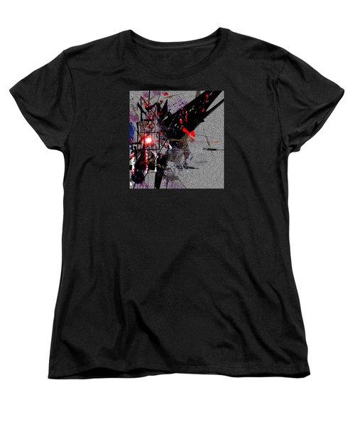 Penman Original-230 Point Of Impact Women's T-Shirt (Standard Cut) by Andrew Penman