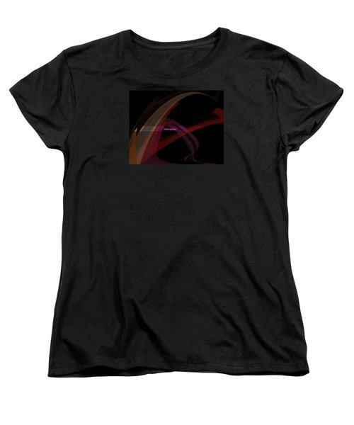 Women's T-Shirt (Standard Cut) featuring the painting Penman Original-293- A Glimmer Of Hope by Andrew Penman
