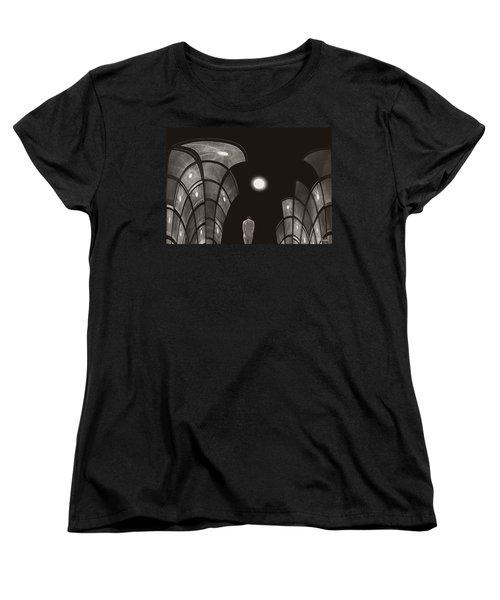 Women's T-Shirt (Standard Cut) featuring the photograph Pensive Nude In A Surreal World by Joe Bonita