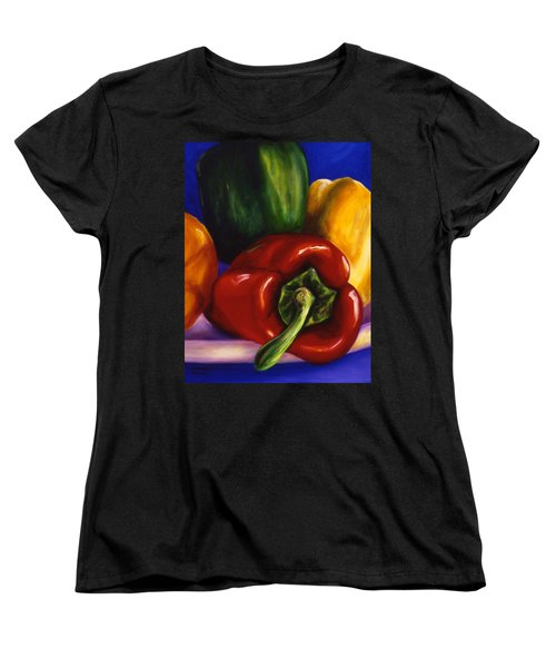 Peppers On Peppers Women's T-Shirt (Standard Cut)