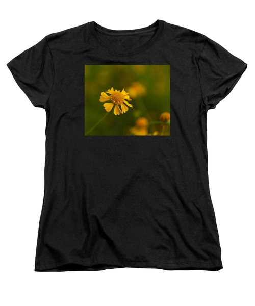 Petals Of Nature Women's T-Shirt (Standard Cut) by Christopher L Thomley