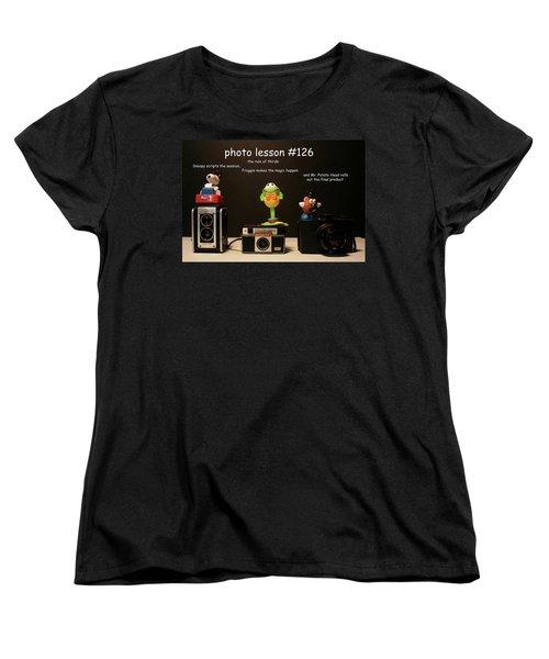 Photo Lesson  Women's T-Shirt (Standard Cut) by Toni Hopper