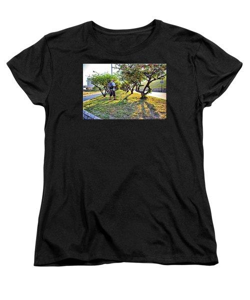Women's T-Shirt (Standard Cut) featuring the photograph Photographer by Brian Wallace