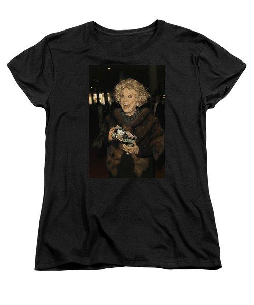 Phyllis Diller Women's T-Shirt (Standard Cut) by Nina Prommer
