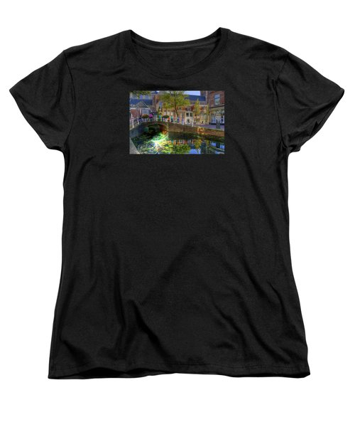 Picturesque Delft Women's T-Shirt (Standard Cut) by Uri Baruch