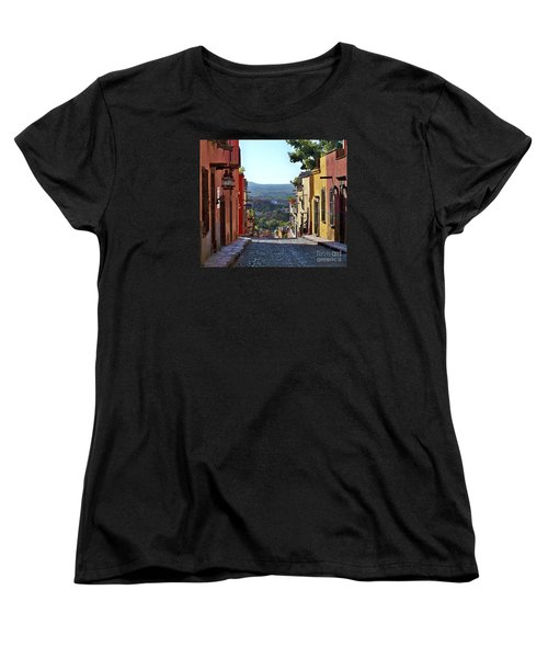 Pila Seca Women's T-Shirt (Standard Cut) by John  Kolenberg