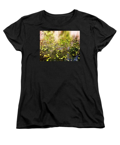 Women's T-Shirt (Standard Cut) featuring the photograph Pink And Green by Melissa Stoudt
