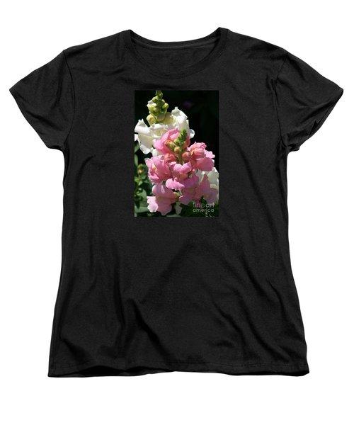 Women's T-Shirt (Standard Cut) featuring the photograph Sweet Peas by Eunice Miller