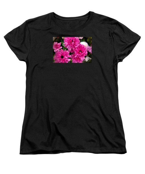 Women's T-Shirt (Standard Cut) featuring the photograph Pink by Diana Mary Sharpton