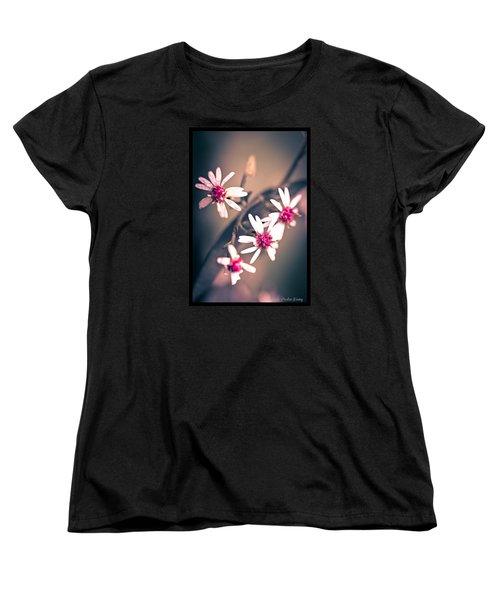 Pink Women's T-Shirt (Standard Cut)