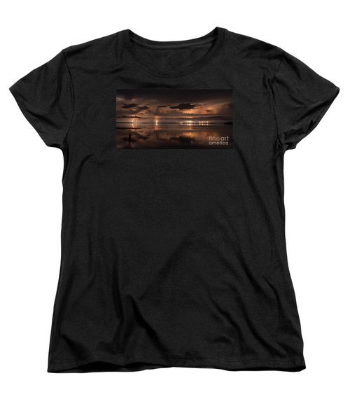 Amber Nights Women's T-Shirt (Standard Cut) by Quinn Sedam
