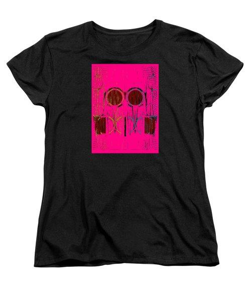 Pink Rings Women's T-Shirt (Standard Cut)