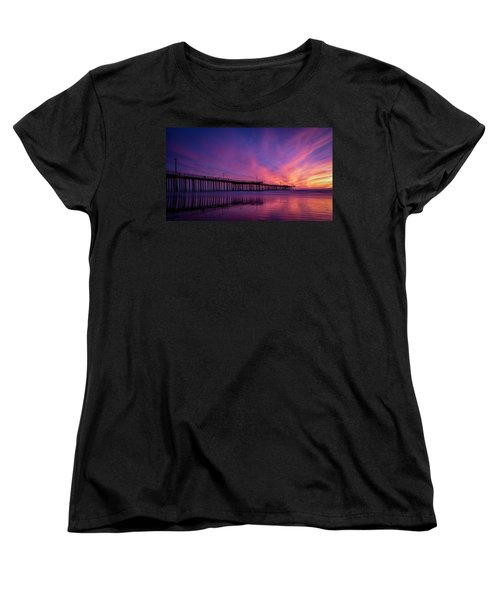 Women's T-Shirt (Standard Cut) featuring the photograph Pismo's Palette by Sean Foster
