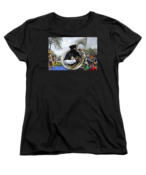 Playing To The Crowd Women's T-Shirt (Standard Cut) by Kathleen K Parker