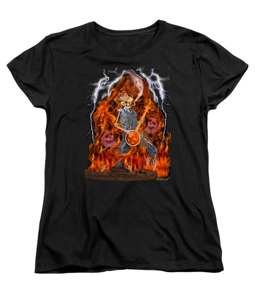 Playing With Fire Women's T-Shirt (Standard Cut) by Glenn Holbrook