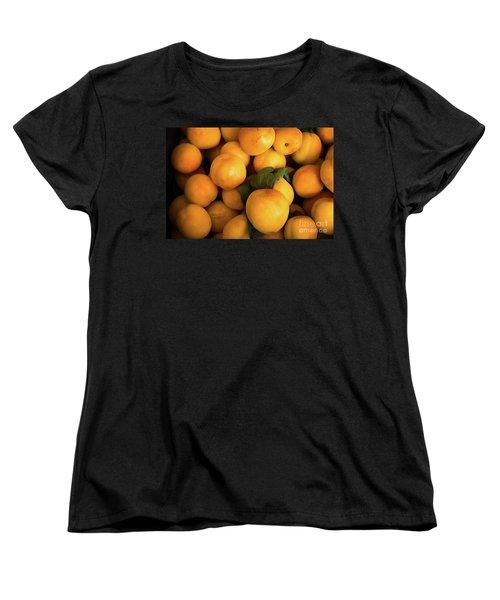 Women's T-Shirt (Standard Cut) featuring the photograph Plum Crazy by Sandy Molinaro
