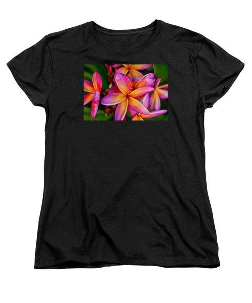 Plumeria Women's T-Shirt (Standard Cut) by Dan McManus