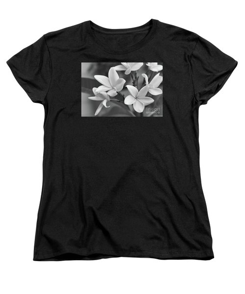 Plumeria Flowers Women's T-Shirt (Standard Cut) by Olga Hamilton