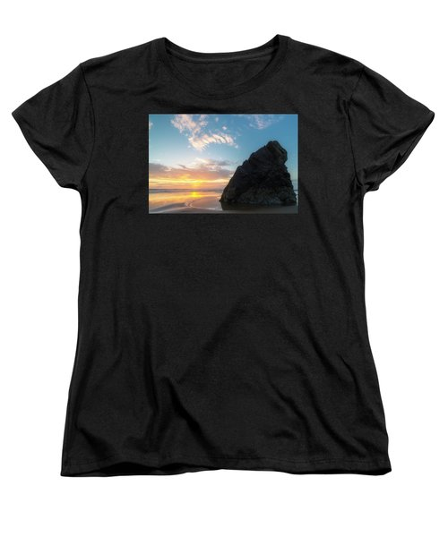 Women's T-Shirt (Standard Cut) featuring the photograph Point Meriwether by Ryan Manuel