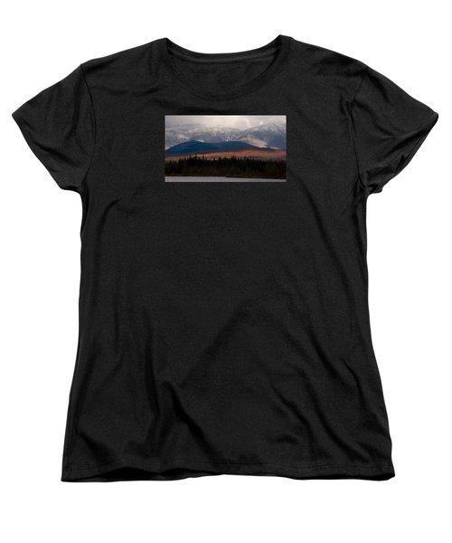 Pondicherry Light And Snow Women's T-Shirt (Standard Cut) by Nancy De Flon