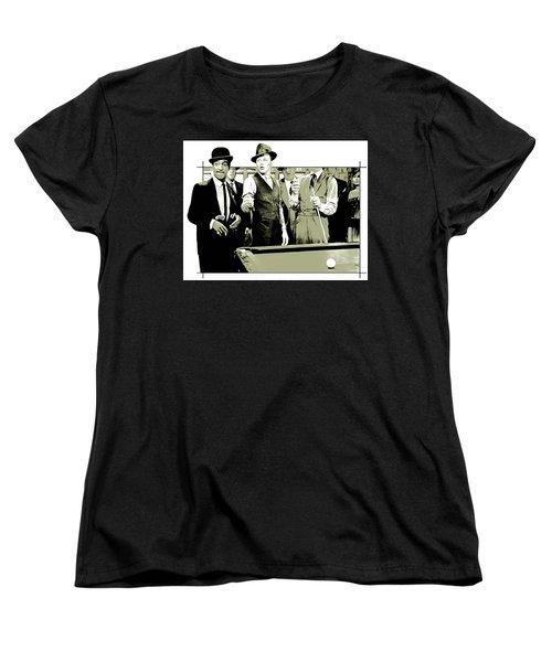Pool Sharks Women's T-Shirt (Standard Cut) by Greg Joens