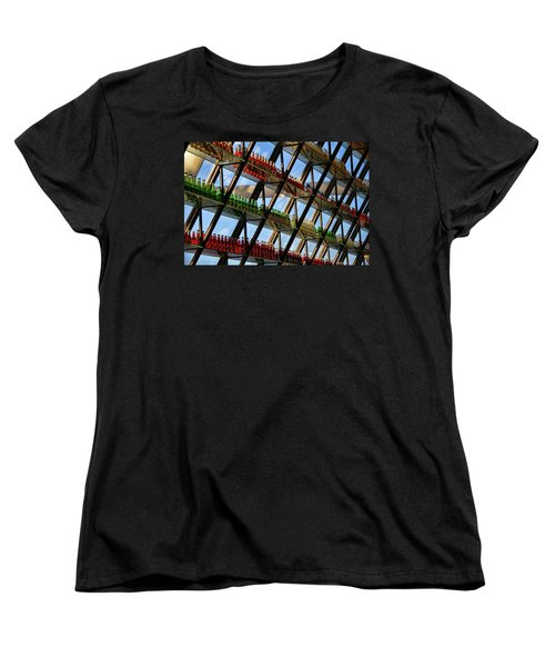 Pop's Bottles Women's T-Shirt (Standard Cut) by Lana Trussell