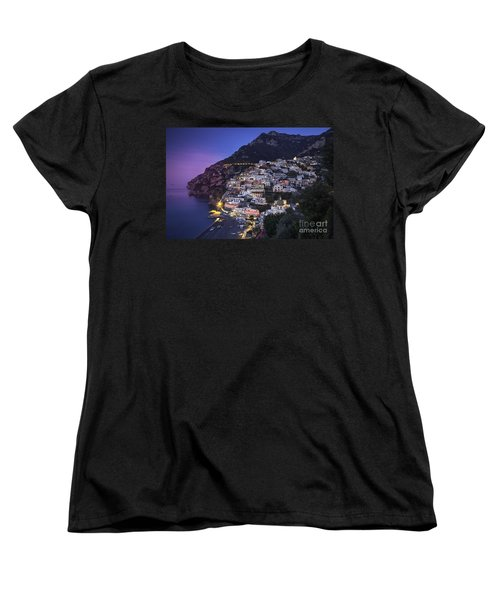 Positano Twilight Women's T-Shirt (Standard Cut) by Brian Jannsen