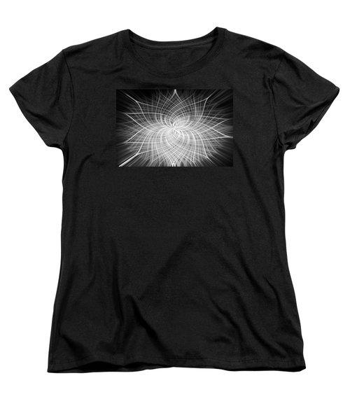 Women's T-Shirt (Standard Cut) featuring the digital art Positivity by Carolyn Marshall