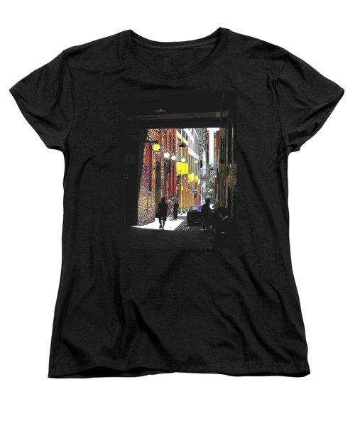 Post Alley Women's T-Shirt (Standard Cut) by Tim Allen