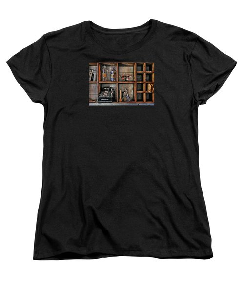 Post Office Women's T-Shirt (Standard Cut) by Ed Hall