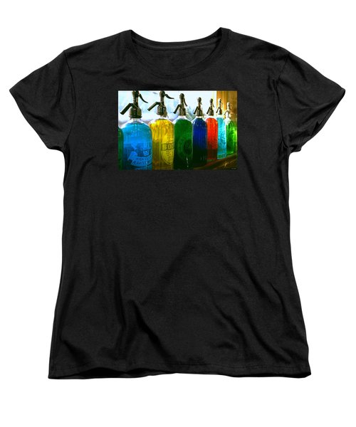 Pour Me A Rainbow Women's T-Shirt (Standard Cut) by Holly Kempe