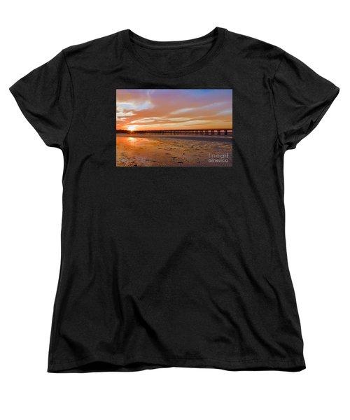 Powder Point Bridge Duxbury Women's T-Shirt (Standard Cut)