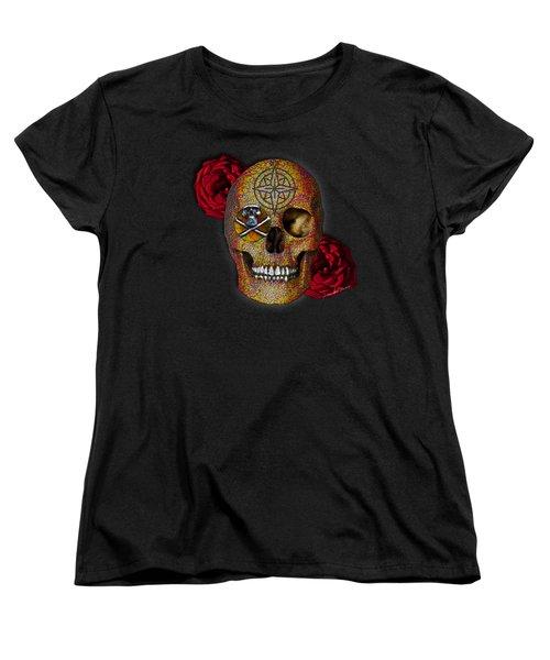Power And Wisdom Women's T-Shirt (Standard Cut) by Iowan Stone-Flowers