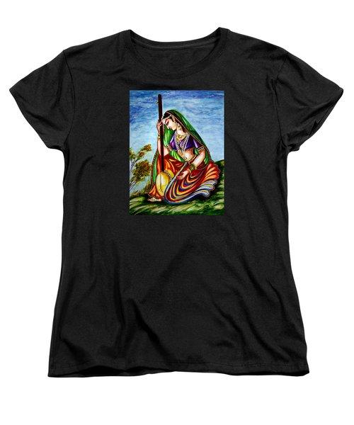 Krishna - Prayer Women's T-Shirt (Standard Cut)