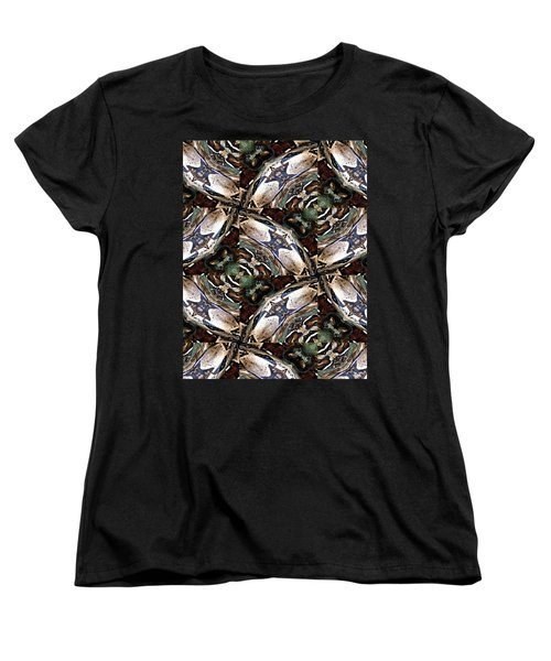 Predator And Prey Women's T-Shirt (Standard Cut) by Maria Watt