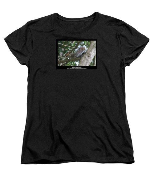 Women's T-Shirt (Standard Cut) featuring the photograph Preparation by Robert Banach