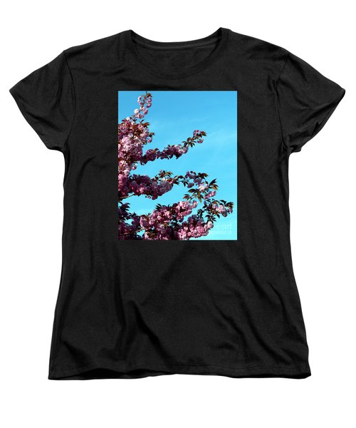 Women's T-Shirt (Standard Cut) featuring the photograph Pretty In Pink by Stephen Melia